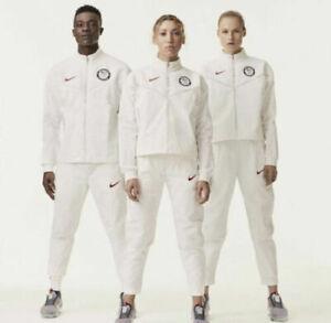 Nike Team USA 2020 Olympics Tech Pack Windrunner Jacket CU1698-100 $450 Size M