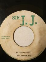 "Carl Dawkins  ‎– Satisfaction - 7"" Vinyl Single 1970"