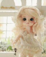 Handmade Victorian Vintage Exclusive & Limited Dress clothe BJD Doll Lati Yellow
