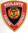 "Vigilante Engine Company - 11 / Rome, PA  (4"" x 4.5"" size) fire patch"