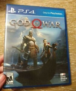 God of War (PlayStation 4, PS4), 2018 - Used