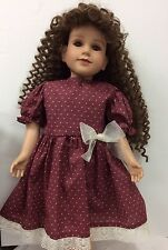 "New Doll Dress Fits 23"" My Twinn Or Donna Rupert  23"" Doll. Handmade New."