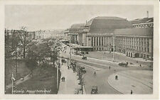 Leipzig, Hauptbahnhof, Bahnhof, alte Ansichtskarte