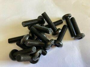 Pan Pozi Machine Screws Zinc Black Coated  M6 x 25