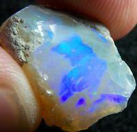 Ethiopian Opal Welo Rough 14.16 CTs FIRE BRIGHT 5/5 AAA+ CUT Grade USA DEALER