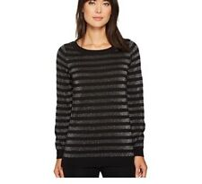 MICHAEL Michael Kors Lurex Stripe Sweater. Size S.