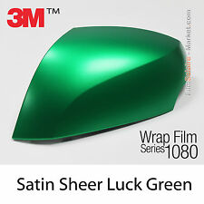 20x30cm FILM Satin Sheer Luck Green 3M 1080 S336 Vinyle COVERING Series Wrap