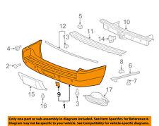 GM OEM Rear Bumper-Cover 20951796