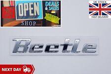 Volkswagen VW Beetle Badge Letters Lettering Chrome Boot Tailgate Emblem Logo