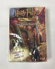 New! 2001 Harry Potter Trading Card Game 2 Two Player Starter Set Box Sealed