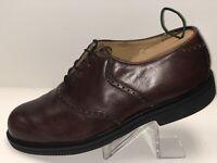 FLORSHEIM 70369 Men's Shoes - Brown Leather Saddle Oxfords Comfort Tech 11 D