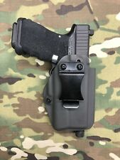 Armor Gray Kydex IWB Holster for Glock 19 23 RMR Cut Thread Barrel Surefire XC1