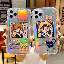 Cartoon Anime Girl TPU Phone Case Cover For iPhone 11 Max SE 2020 XR 6 7 8 Plus
