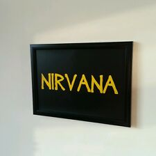 Custom Band Name Framed Picture. Your Choice Of Name Or Text
