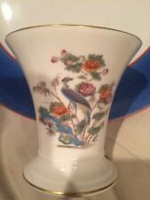 Wedgwood KUTANI CRANE Posey Pot - Bone China Made in England Excellent Condition