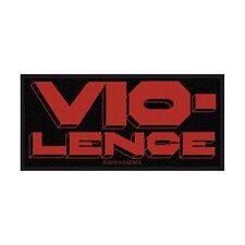 Vio-Lence Logo Parche/Parche 602964#