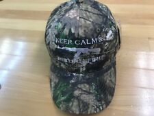 KEEP CALM & RETURN FIRE  CAMO BASEBALL CAP MOSSY OAK