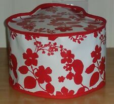 Red Floral Vinyl Dust Cover For TEFAL ACTIFRY 1.2kg