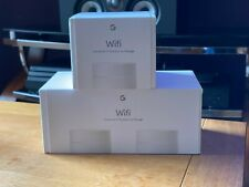 Google Wifi Dual-Band Mesh Wi-Fi System – Pack of 3, White