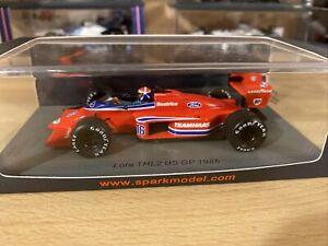 1/43 SPARK Lola THL2 USA GP 1986