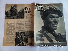 RADIO TELEVISION CINEMA N°465 14/12/1958 ROGER BLIN FILM 12 HOMMES EN COLERE G86