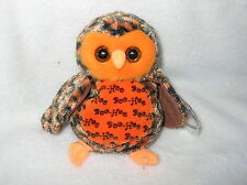 BOO WHO? the Owl Hallmark Gold Crown Exclusive 6 inch RARE WITH ERROWS