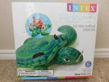 Brand new in the box Intex Lil' Sea Turtle Ride-On pool float