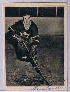 BRIAN CULLEN CUSTOM BEEHIVE STYLE PHOTO IN PERSON AUTOGRAPH TORONTO MAPLE LEAFS