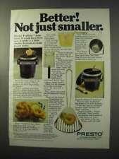 1977 Presto FryBaby and FryDaddy Ad - Better!