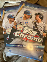 2 Sealed Topps Chrome 2020 Hobby Boxes LUIS ROBERT ROTY