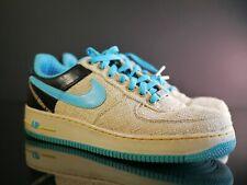 7642ea841 Nike Air Force 1 PRM 07 Low Thompson Tweed Blue Brown Bahamas Born Kid Sz  9.5