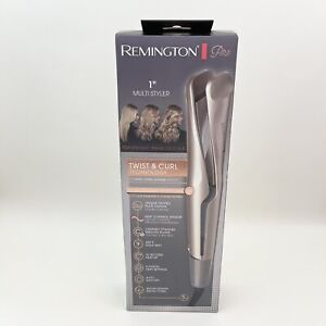 """Remington Pro 1"""" Multi-Styler With Twist And Curl Technology, Champagne/Gray"""