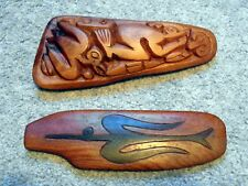 2 EASTER ISLAND FAMOUS RONGORONGO TABLETS! WHAT ARE THE CODED MESSAGES WITHIN?