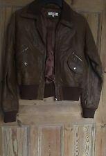 Womens Asos Leather jacket pilot Jacket bomber Jacket