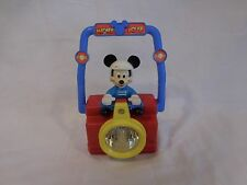 Mickey Mouse Light Disney Flashlight Red Green Filter Motorcycle Race Car