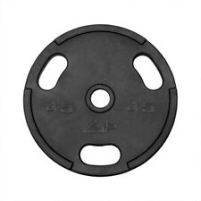 American Barbell GP Rubber Olympic Weight Plates 45 lb, New, SET OF 2 PLATES