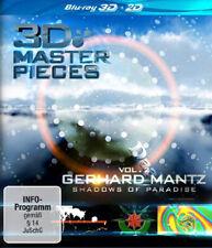3D Masterpieces: Gerhard Mantz - Shadows of Paradise (Vol. 2) NEW Blu-Ray Disc