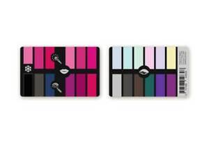 Karten-Farbpass Make-up Color Palette Card Winter für Kosmetik und Farbberatung