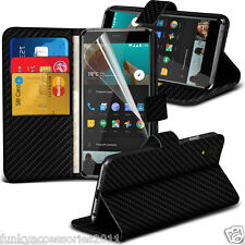 Leather Executive Quality Book Wallet Phone Case✔SP for Sony Xperia XZ1