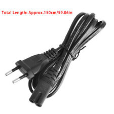 1.5M 5Ft Short C7 To European EU 2-Pin Plug AC Power Cable Lead Cord Figure 8