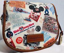 ~Dooney & Bourke*WDW 40th Anniversary*Saddle Crossbody Bag*Disney Parks 18321E