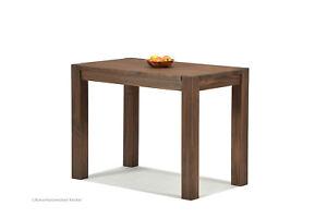Esstisch 100x60cm Cognac braun Rio Bonito Küchentisch Massivholz  Pinie