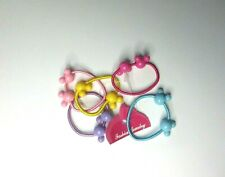 NEW 5 x Disney Mickey & Minnie Mouse elastic hairbands Hair Ties Bands