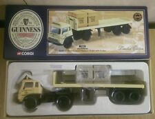 Corgi 22503 Bedford TK Artic Platform Trailer & Guinness Ltd Ed No 0001 of 4000