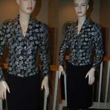 ST. JOHN KNIT BLACK STUNNING SANTANA KNIT COLLECTION  SUIT JACKET SZ 2