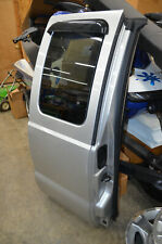 2008-2010 FORD F-250 F-350  OEM DOOR REAR DRIVER EXTENDED CAB SILVER