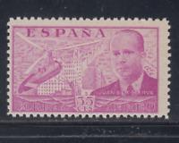 ESPAÑA (1939) NUEVO SIN FIJASELLOS MNH - EDIFIL 882 (35 cts)JUAN DE CIERVA LOTE2