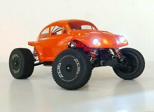 Gorgeous lexan baja bug body/cover for Wltoys XKS144001, FREE DIY LED light kit.
