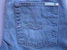 SEVEN 7 FOR ALL MANKIND MENS STANDARD FADED GRAY STRAIGHT LEG JEANS SIZE 30 NEW
