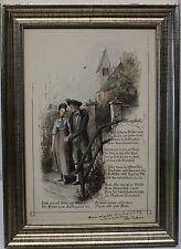 Becker peter 1828 - 1904 pour seitz Otto prof: 1846-1912 encre pour le dessin printanière